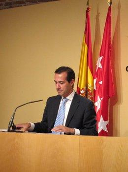 Salvador Victoria en el Consejo de Gobierno