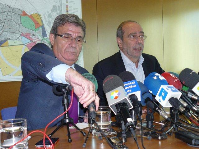 José Borrás y Manuel Robles