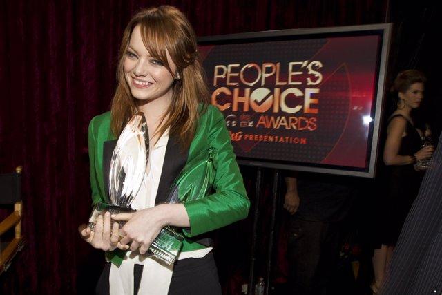 Emma Stone En Los People Choice Awards