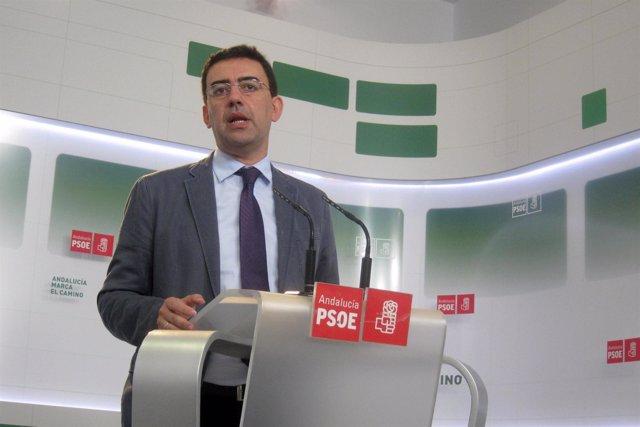 El vicesecretario general del PSOE andaluz, Mario Jiménez