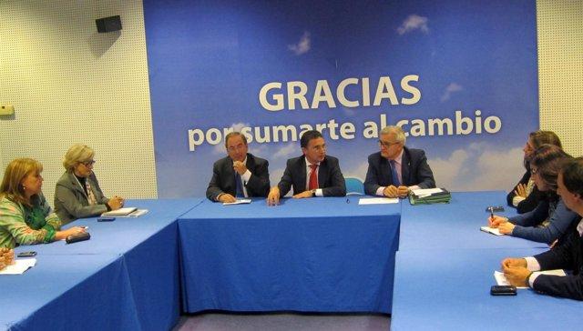 Castellano Y Rosado En La Constitución De La Comisión De Sanidad Del PPCV