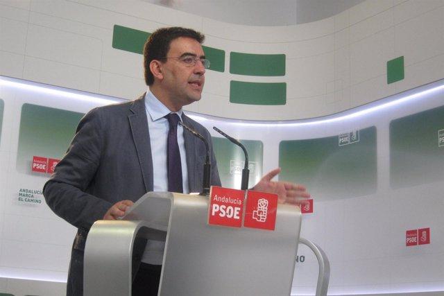 El vicesecretario general del PSOE-A, Mario Jiménez