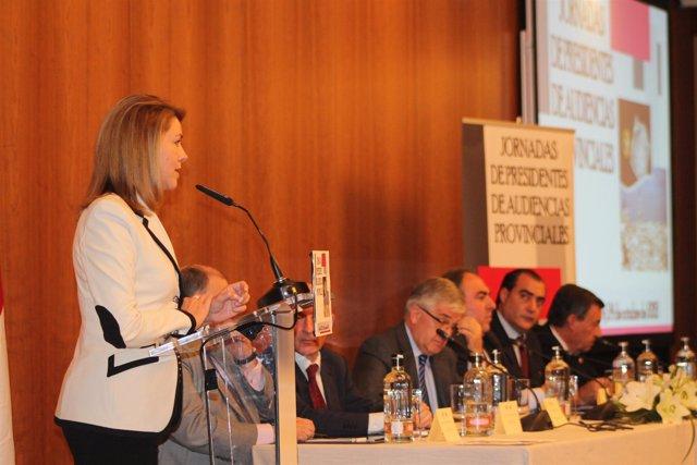 MªDolores de Cospedal, Presidenta de Castilla La Mancha