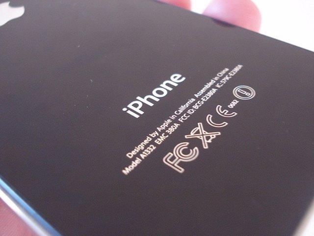Cubierta trasera de iPhone 4