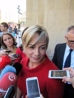 Sonia Castedo A Su Salida Del TSJCV