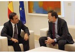 Mariano Rajoy y Carlos Ghosn
