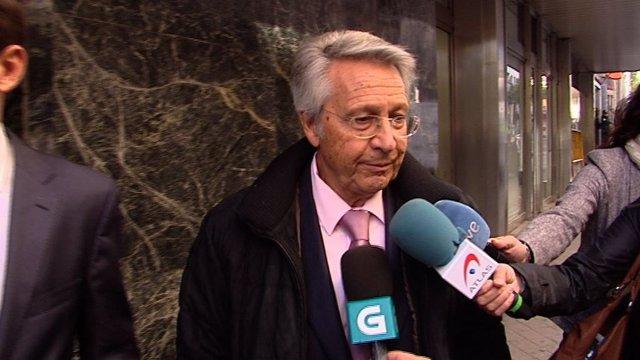 Julio Fernández Gayoso, expresidente de Novacaixagalicia
