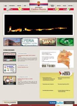 Nuevo portal web del Ayuntamiento de Cumbres Mayores.