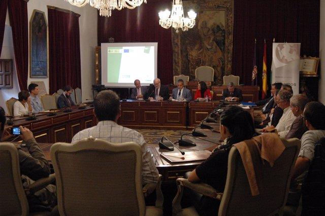 Acto inaugural del curso organizado en Diputación