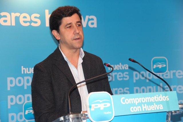 El parlamentario andaluz del PP de Huelva  Alberto Fernández.