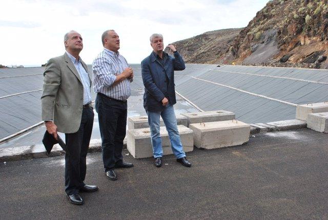 Visita a la Central Hidroeólica
