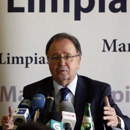 El secretario general de Manos Limpias, Miguel Bernard