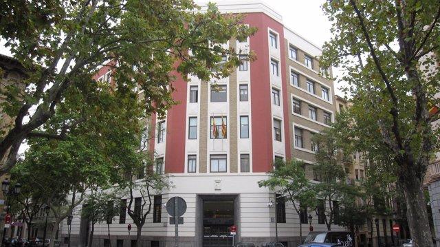 Sede del Departamento de Hacienda y Administración Pública del Gobierno aragonés