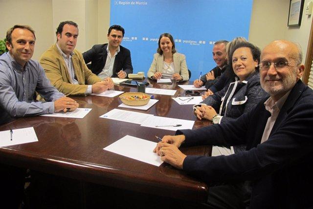 Partido Popular de la Región de Murcia constituye su Comisión de Urbanismo