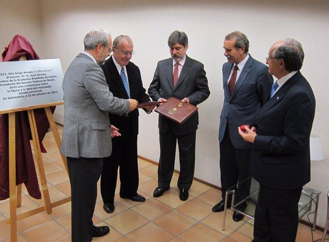 El expresidente de Brasil y actual presidente del Senado Federal.
