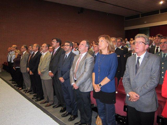 El conseller F.Puig en la inauguración del XXVI curso básico de policía del ISPC