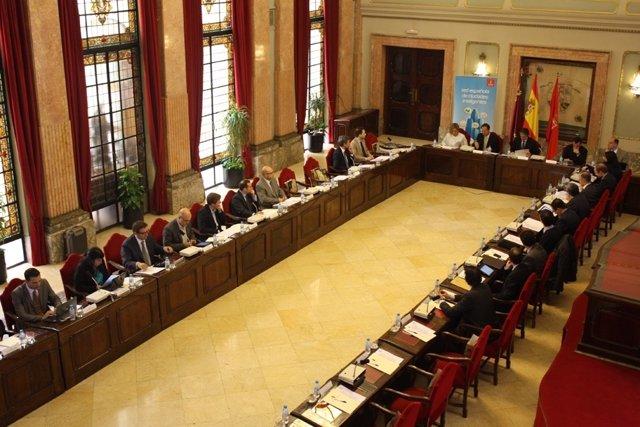 Reunión del Comité Técnico de la RECI en Murcia