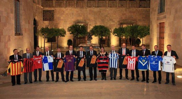 Selecciones catalanas Artur Mas