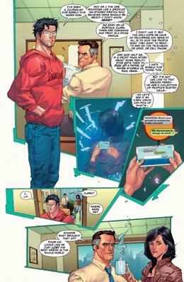 Clark Kent (Superman) deja el 'Daily Planet'