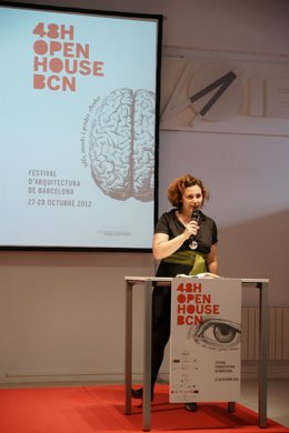 Janice Moret, una de las organizadores del 48H Open House BCN