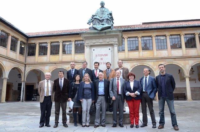 Lerner y Winter, con investigadores españoles