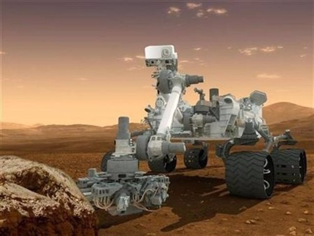 El todoterreno 'Curiosity' de la Nasa
