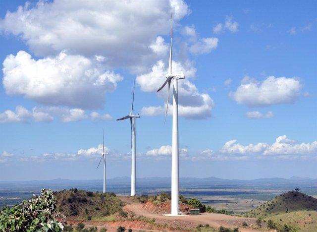 Tercer Paque Eólico De Acciona En India