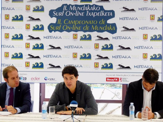 Presentación del Campeonato de Surf de Mundaka