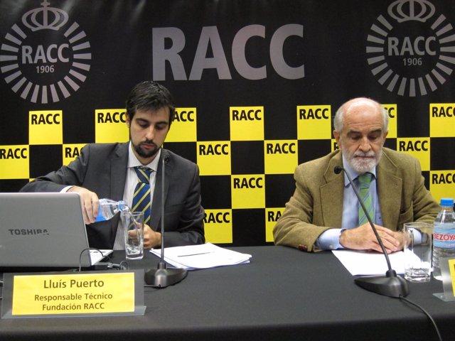 Presentación del informe del RACC sobre carburantes