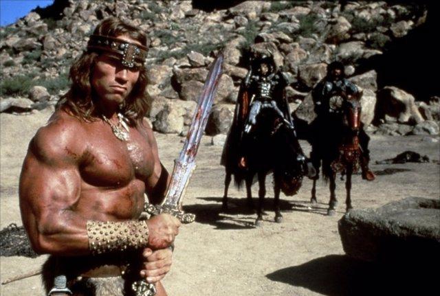 Schwarzenegger es Conan