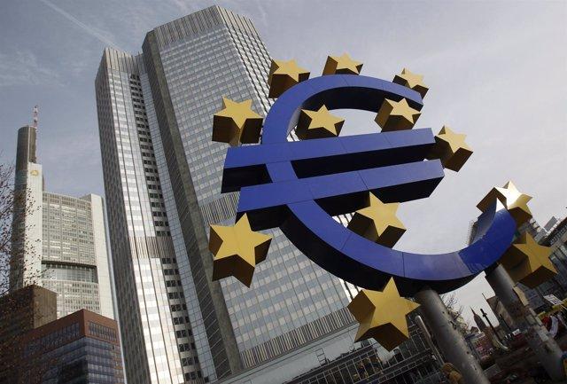 Sede del Banco Central Europeo (BCE) en Frankfurt