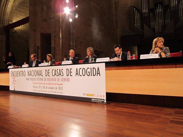 Encuentro Nacional De Casas De Acogida En Cáceres