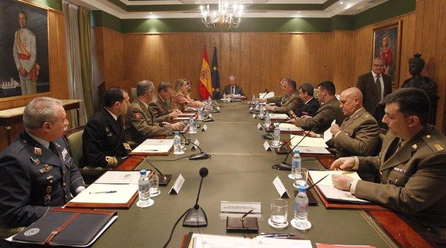 Constitución del Consejo de Personal de las Fuerzas Armadas