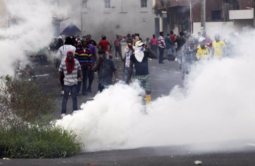 Protestas en Panamá, en la ciudad de Colón