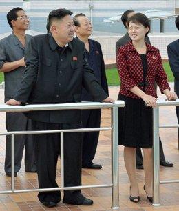 Ri Sol Ju, esposa de Kim Jong-Un