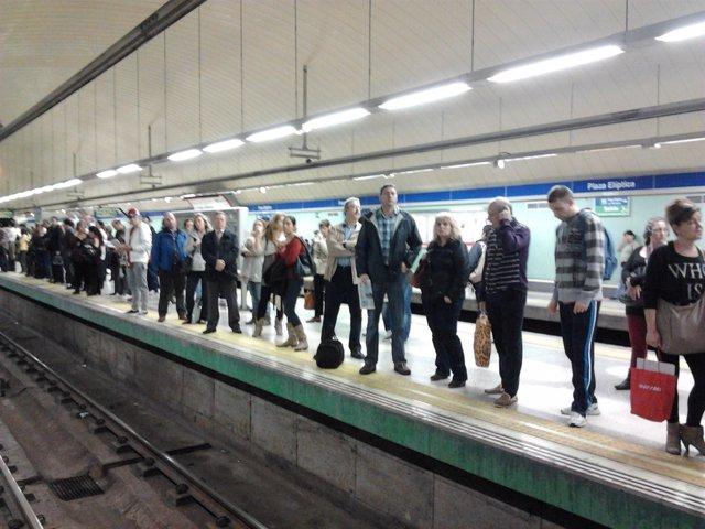 Metro huelga