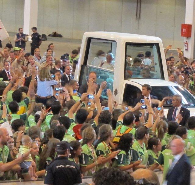 Encuentro Papa Con Voluntarios JMJ