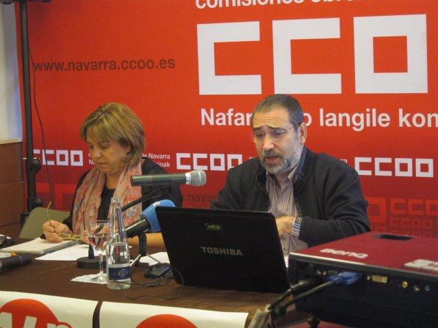 Pilar Arriaga y José María Molinero.