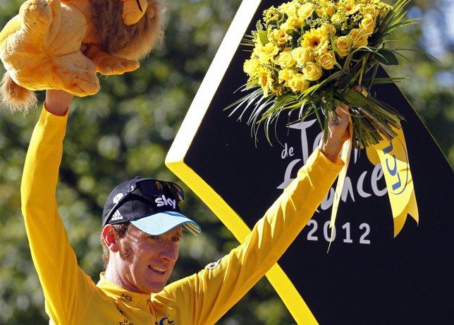El ciclista británico Bradley Wiggins