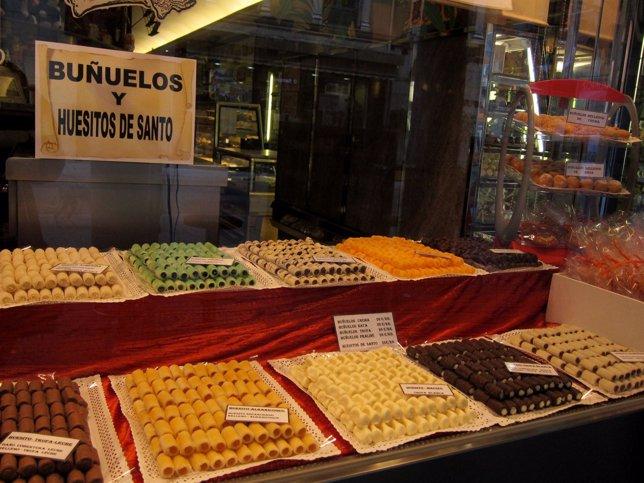 Dulces típicos del Día de Todos los Santos