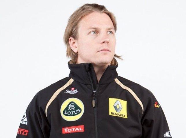 Kimi Raikkonen Con Lotus Renault