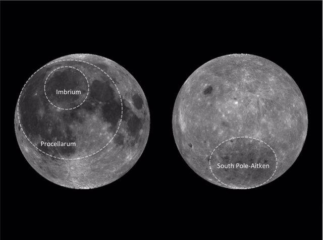 Descubren origen punto oscuro de la Luna