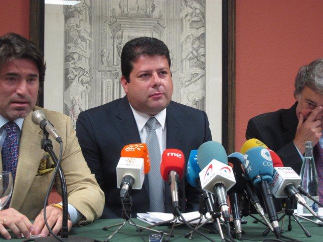 Fabian Picardo, En Rueda De Prensa.