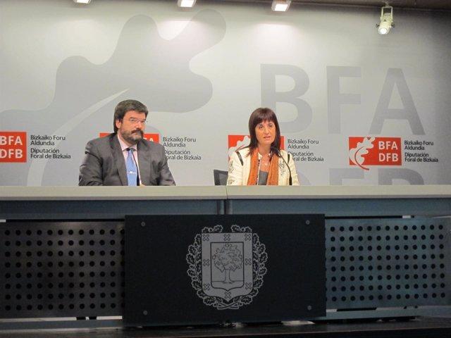 Juan Mari Aburto e itziar Garamendi