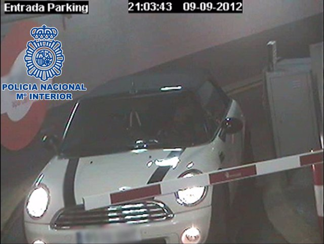 El vehículo objeto de la presunta estafa