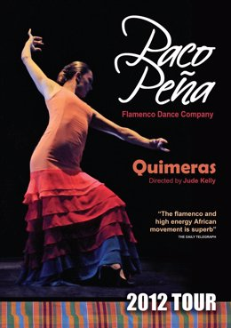 Cartel del nuevo espectáculo de Paco Peña