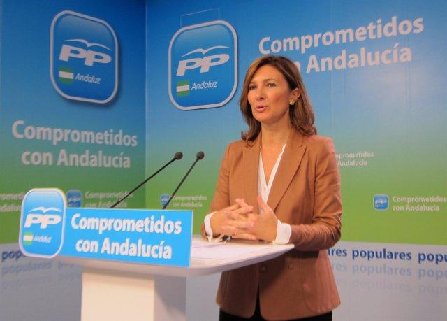 La vicesecretaria de MAmbiente y territorial del PP-A, Alicia Martínez