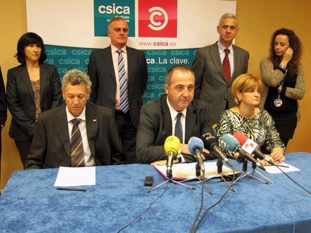 Consejeros de Csica dimitidos en Caja España-Duero