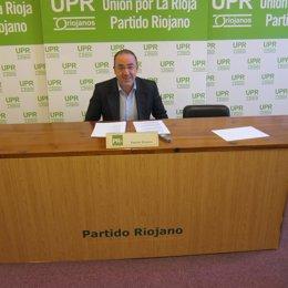 Diputado de PR+ riojanos, Rubén Gil Trincado