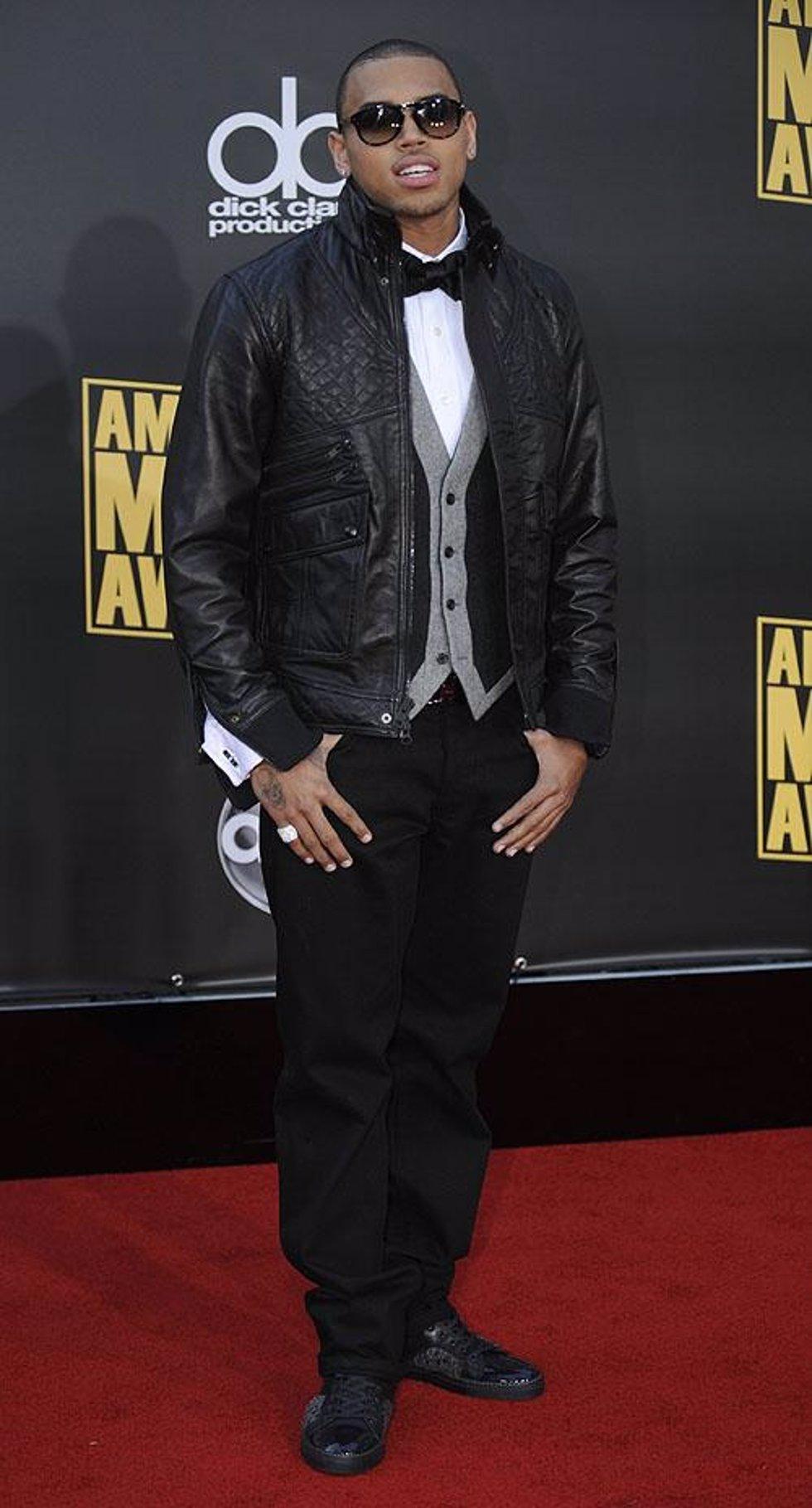 El rapero Chris Brown